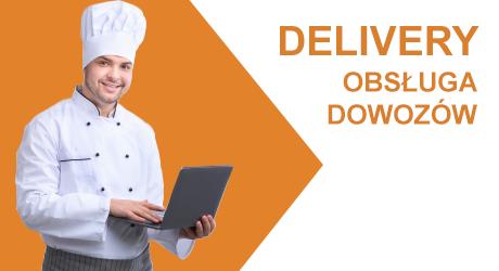 Gastronomia program delivery dowozy